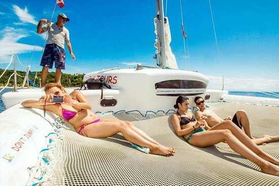 Roatan Catamaran Snorkeling Party with...