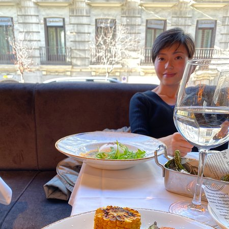 Super lunch in Madrid