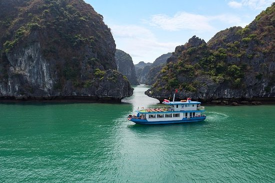 Luxury Day Trip Visit Halong Bay and...