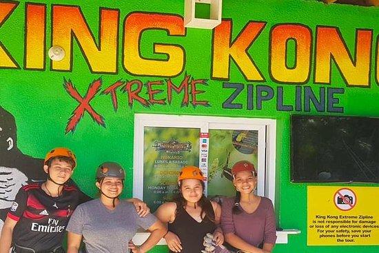 King Kong Extreme Zipline, City Tour...