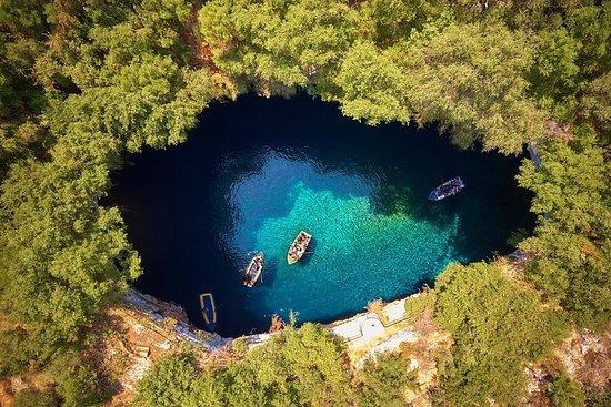 私人海岸遊覽:Robola酒廠,Drogarati洞穴,Melissani湖...
