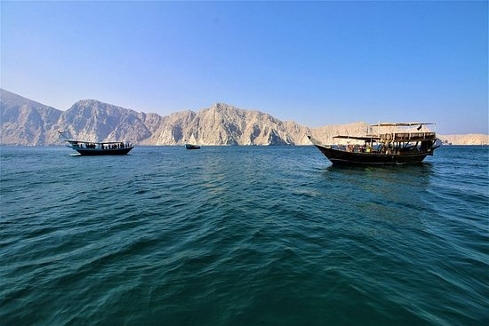 Khasab Musandam Cruise Lunch Day Trip...