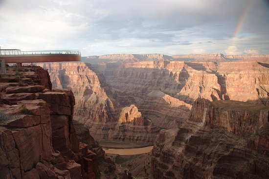 Dagsresa till Grand Canyon West Rim i ...