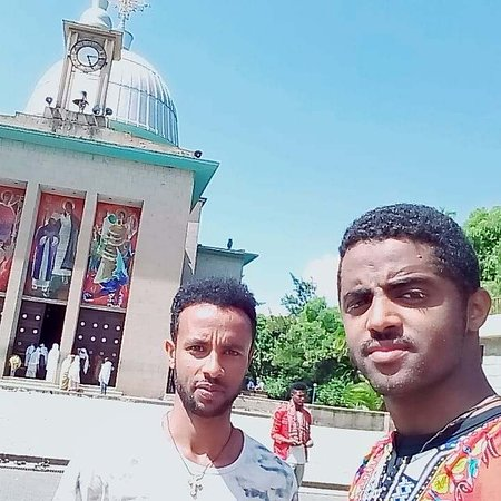 En dagstur til Debrelibanos kloster og den portugisiske bro: Founded in the 13th century by Saint Tekle Haymanot, Debre Libanos is a monastery in Ethiopia, lying northwest of Addis Ababa in the Semien Shewa Zone of the Oromia Region. According to the Ethiopian Orthodox Church, Saint Tekle Haymanot  meditated in a cave for 29 years. The monastery's chief abbot, called the Ichege, was the second most powerful official in the Ethiopian Church after the Abuna.   The monastery complex sits on a terrace between a cliff and the gorge of one of the tributaries of