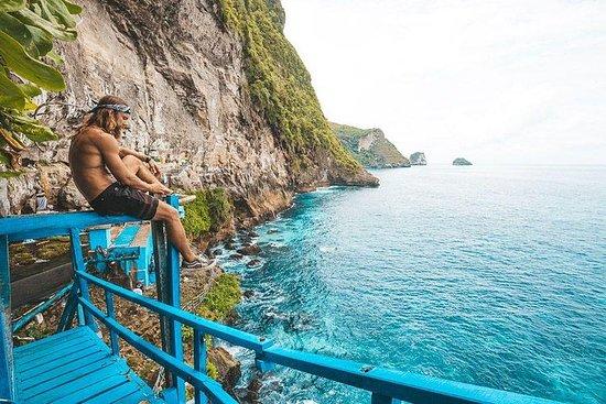 Excursão pela cachoeira Nusa Penida...