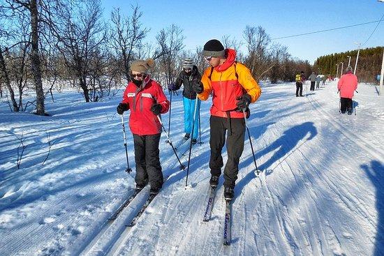 Cross-Country Ski Lesson for Beginners in Tromso