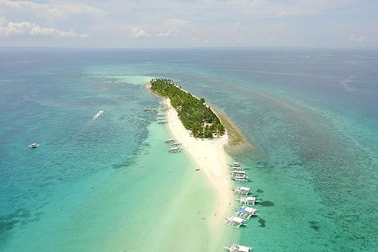 Kalanggaman & Malapascua Island Day Tour with Private Transportation