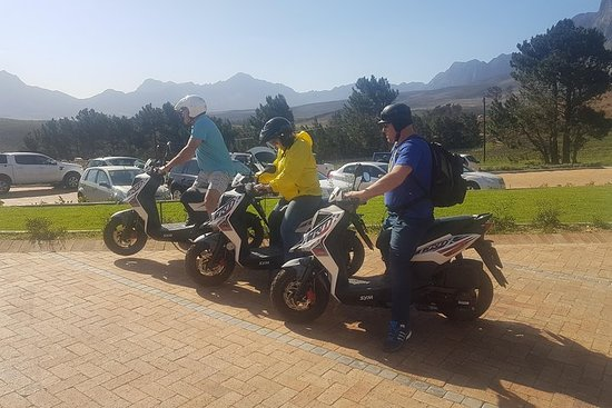 1-daagse off-road scooter-excursie