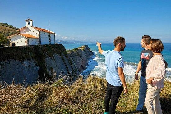 Excursión por la costa de Gipúzkoa...