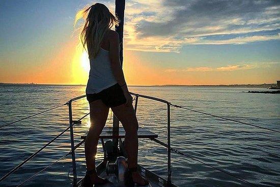 2 Hour Lisbon Sunset and Wine Sailing...