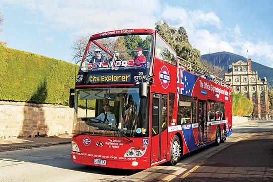 ホバート乗り降り自由バス・ツアー
