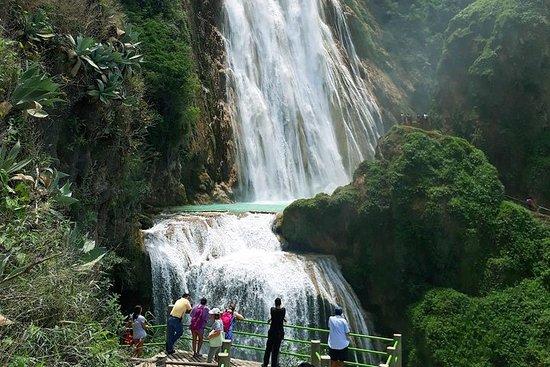 Cascadas el Chiflon (Velo de novia) y Lagos de Montebello salida San...