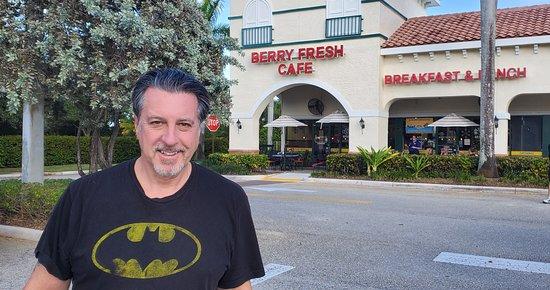 ROSARIO S CASSATA AT BERRY FRESH CAFE IN JUPITER FLORIDA.