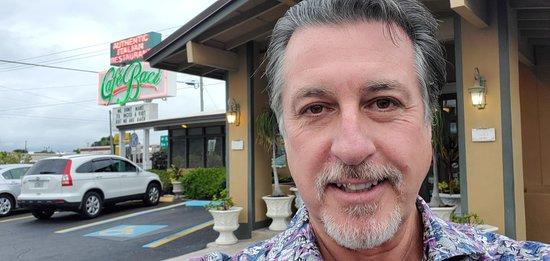 ROSARIO S CASSATA AT CAFE BACI IN SARASOTA FLORIDA.