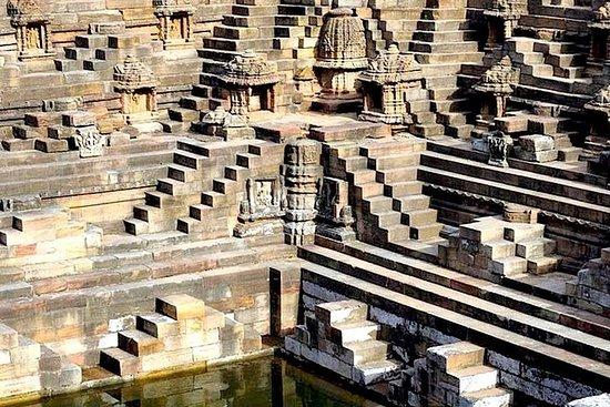 Step well & Sun temple of Modhera, Patola saree weaving in Patan from...