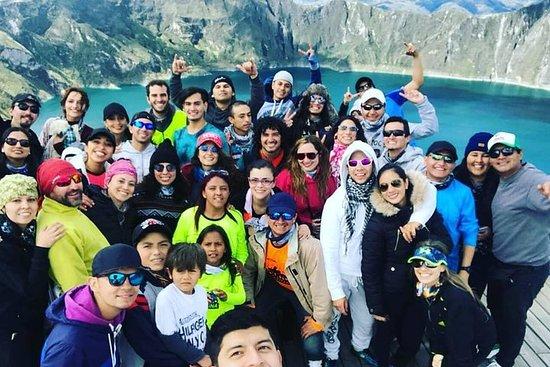 Quilotoa Lagoon fra Quito - Hverdagsavganger