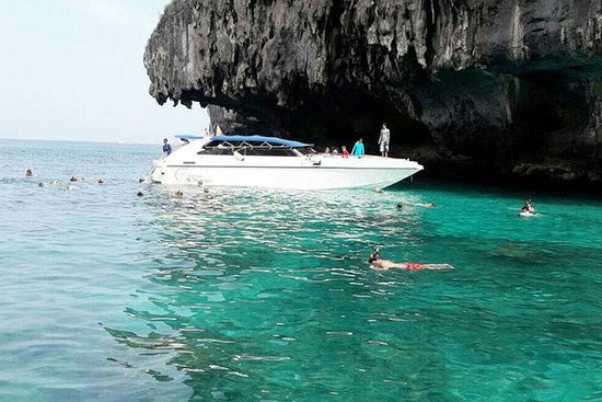 Phi Phi Maya Bamboo Tour by Speed Boat