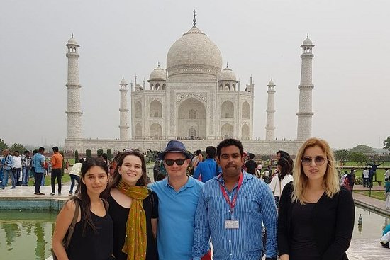 Private Day Tour av Taj Mahal med Old...