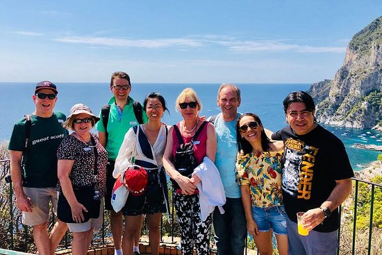 Capri Day Trip with Blue Grotto...
