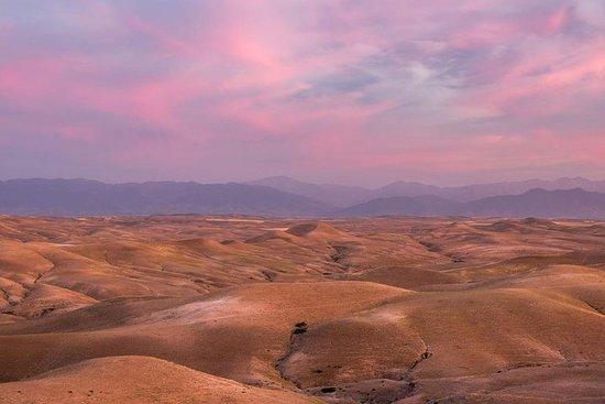 Berge Trips 3 Täler mit Agafay Wüste...
