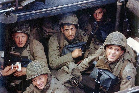 Normandie, Omaha: D-Day - Fra luftbåren til infanteri