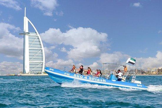 90-minütige Schnellboot-Tour: Dubai...