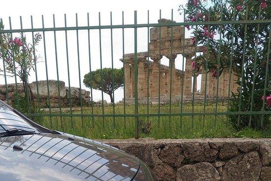 Templos romanos griegos de Paestum...