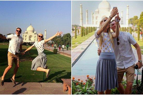 Depuis Delhi: visite privée du Taj...