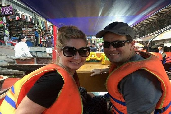 Schwimmende Markttour ab Bangkok Privat