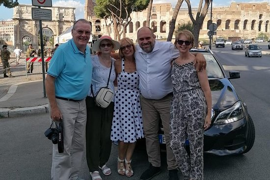 Privé dagtour met sightseeing in Rome
