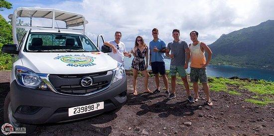 Moorea Landausflug: 4WD Tour...
