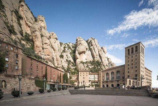 Visita al monasterio de Montserrat...