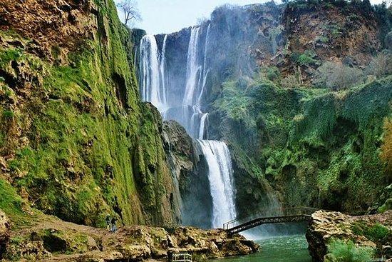 Tagesausflug zu den Ouzoud-Wasserfällen...