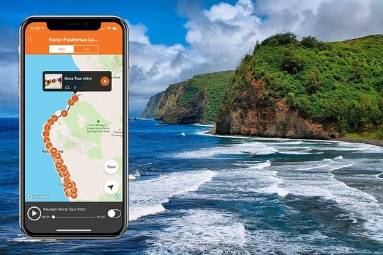 Big Island-eilandbundel - Driving Tour-app
