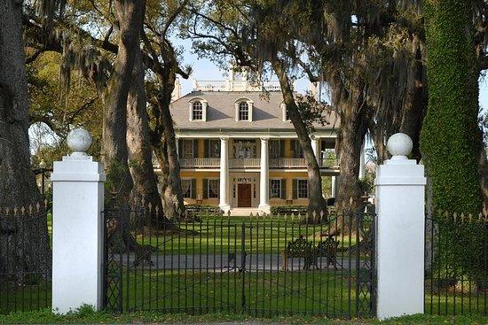 Houmas House Plantation and Gardens Tour med transport fra New Orleans