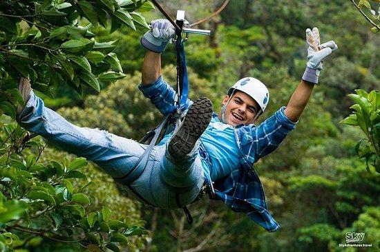 Sky Adventures Tour vanuit Monteverde