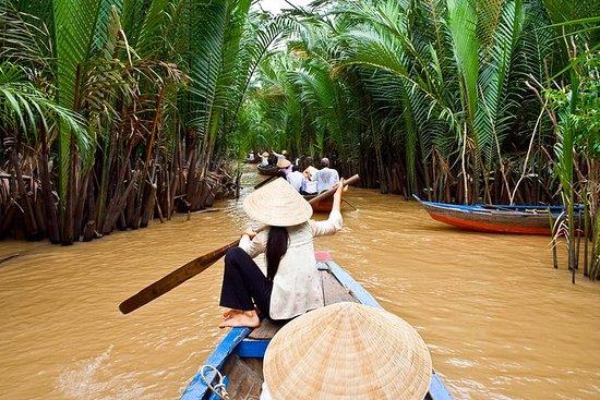 Viagem diurna pelo Delta do Mekong...