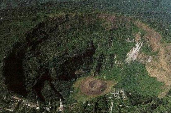 Santa Tecla and El Boquerón National Park from San Salvador