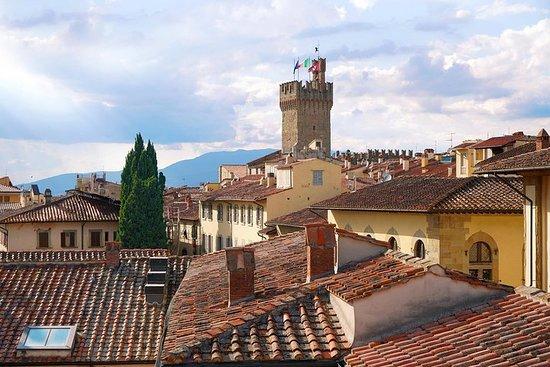 Cortona og Arezzo Full-Day Lille...