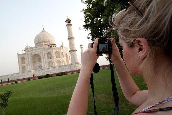 Circuit Agra Taj Mahal le même jour en...