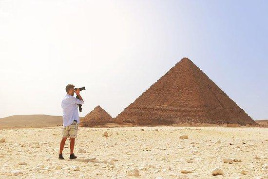 Pyramides de Gizeh et du Sphinx...