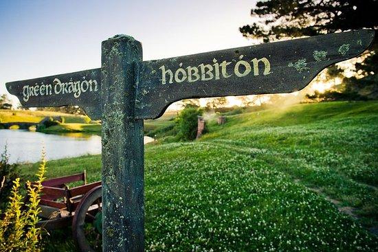 Auckland to Waitomo Caves and Hobbiton...