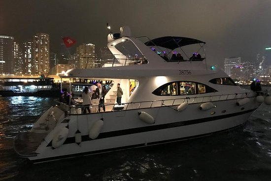 HK2021 Silvester Open Bar Yacht Cruise