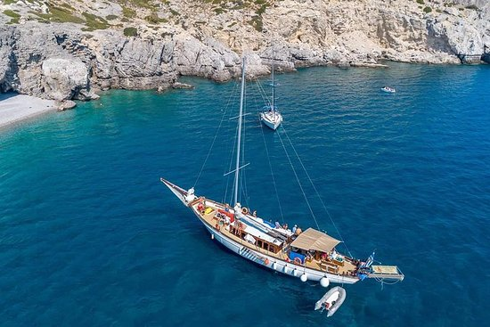Rhodes Bay-to-Bay Sailing Adventure Full-Day tour