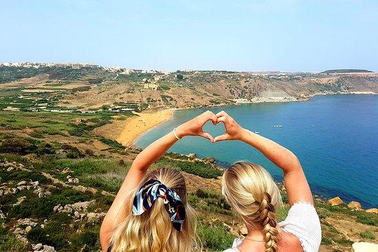 Wandern Sie auf Gozo, schwimmen Sie...