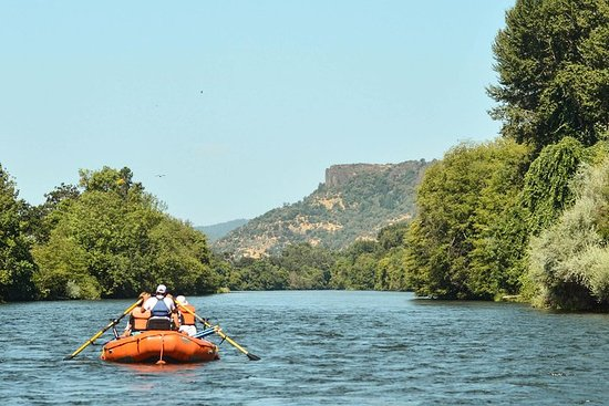 Rogue River den ganzen Tag