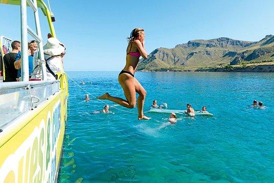 Excursión de medio día en barco en la bahía de Alcudia