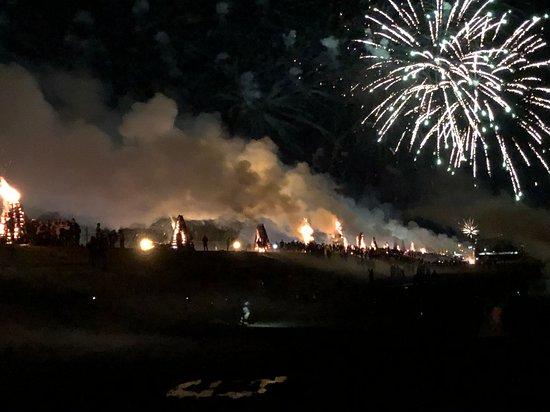 Festival of the Bonfires, Lutcher, Louisiana, USA