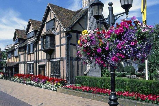 牛津,科茨沃尔德和埃文河畔斯特拉特福一日游从牛津出发,包括莎士比亚的出生地