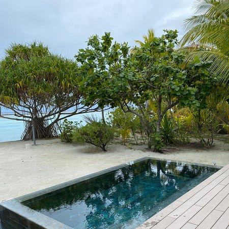 The Brando our villa pool